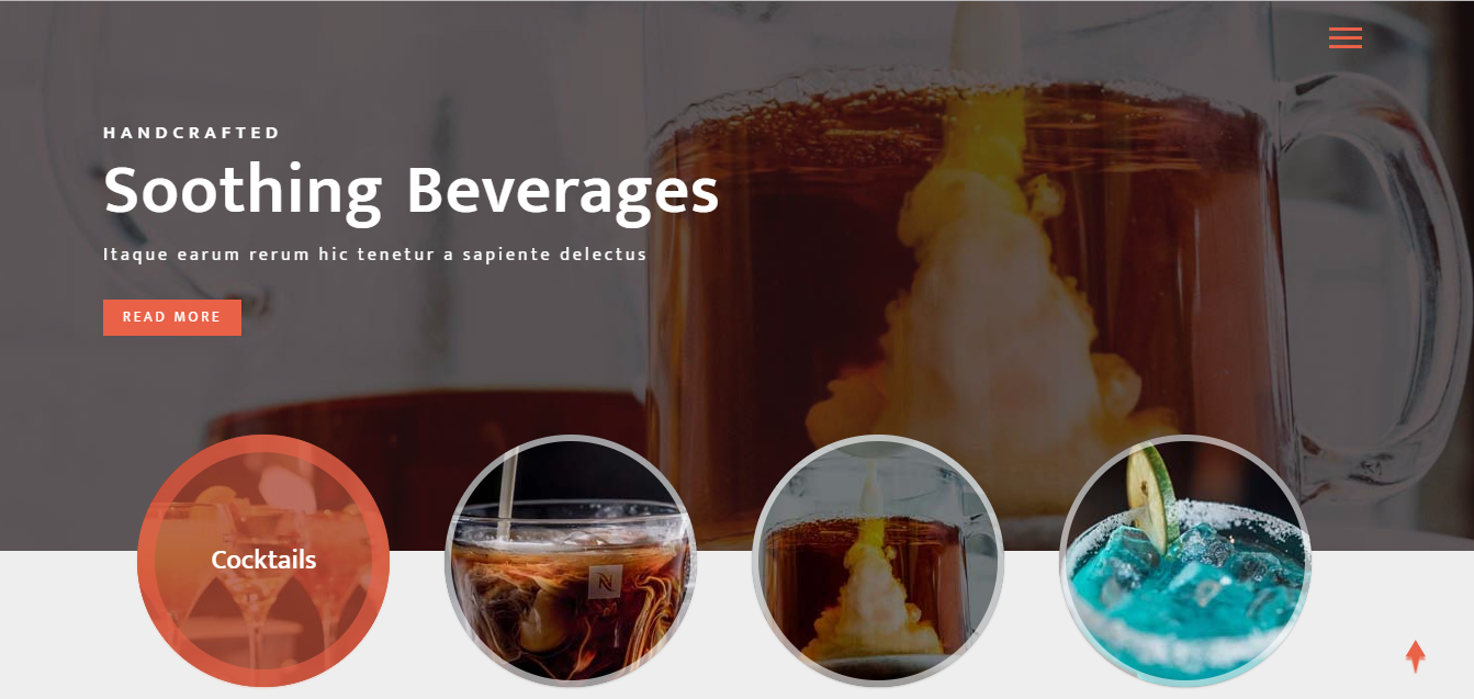 beverages free restaurant bootstrap responsive website template beverages development technology html 5 css 3 js bootstrap