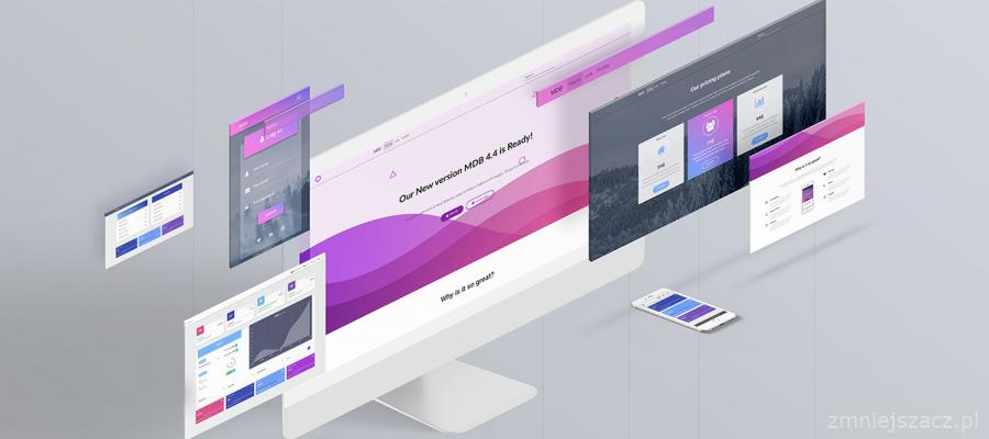 5. Material Design for Bootstrap 4 Free
