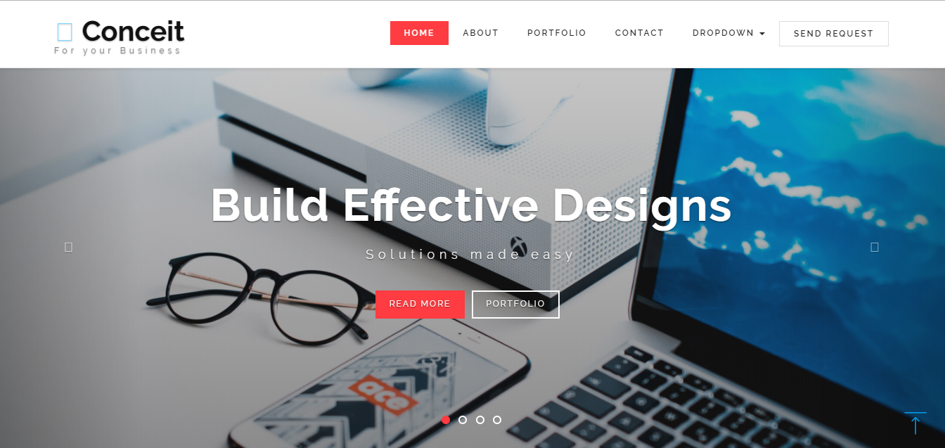 conceit a free bootstrap responsive web template for enterprise