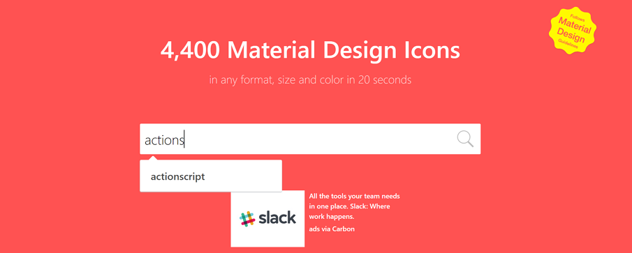 10 Best Free Material Design Icons Resources in 2018 for Inspiration