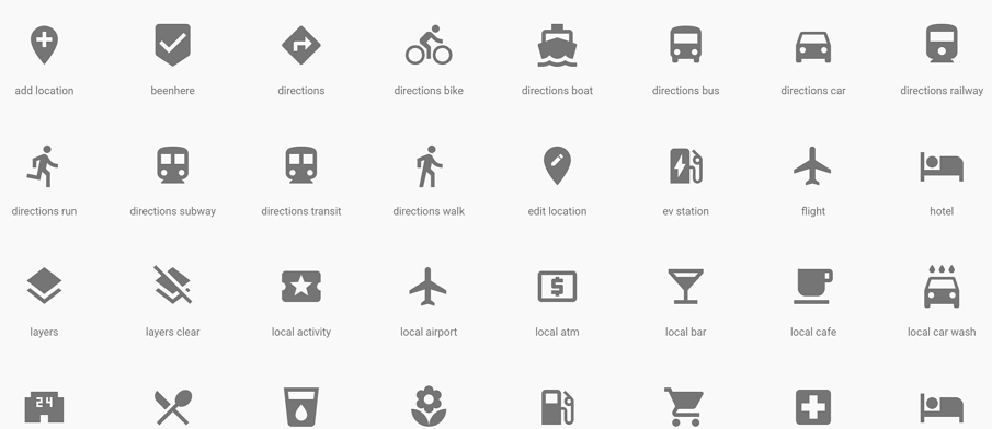 Google-Material-Design-Icons