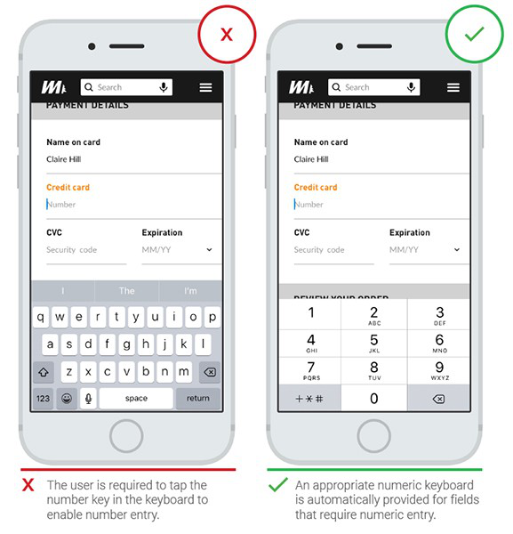 Mobile Form Design 4 - Provide Suitable Input Methods
