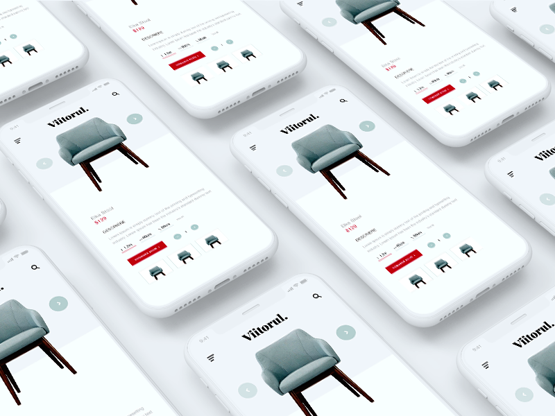 Furniture App Concept