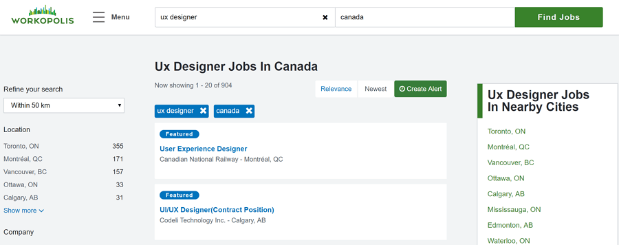 job search canada find your next job workingcom - 900×356