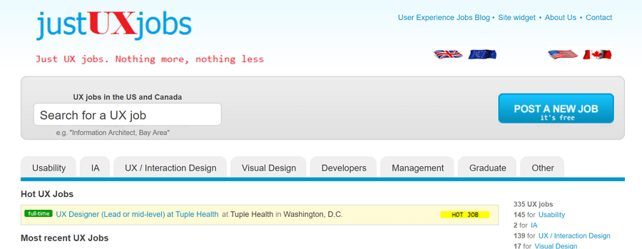 Just-ux-jobs
