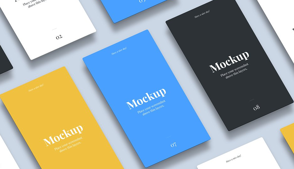 21 Best Mobile App Mockup Design Resources in 2018