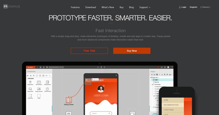 Rapid Prototyping Tool: Mockplus