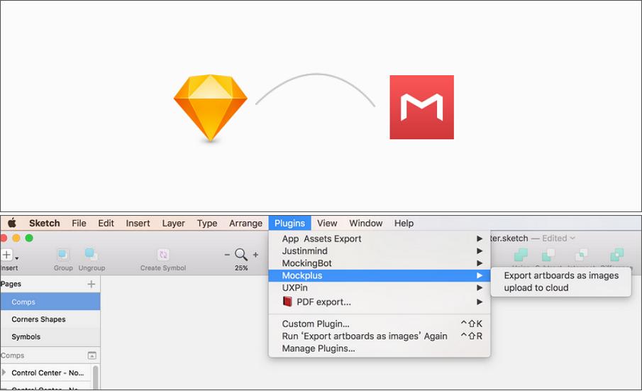 Sketch Mockplus plugin