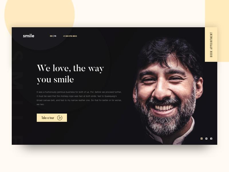 Dental Website Idea