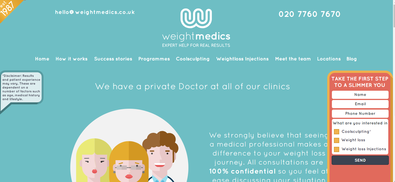 5 Best Medical Website Design Examples and Color Analysis in 2018