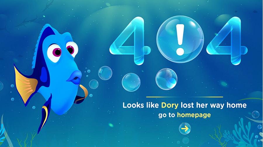 404 Microcopy Design