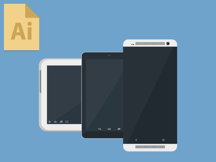 Android-devices-dribbble