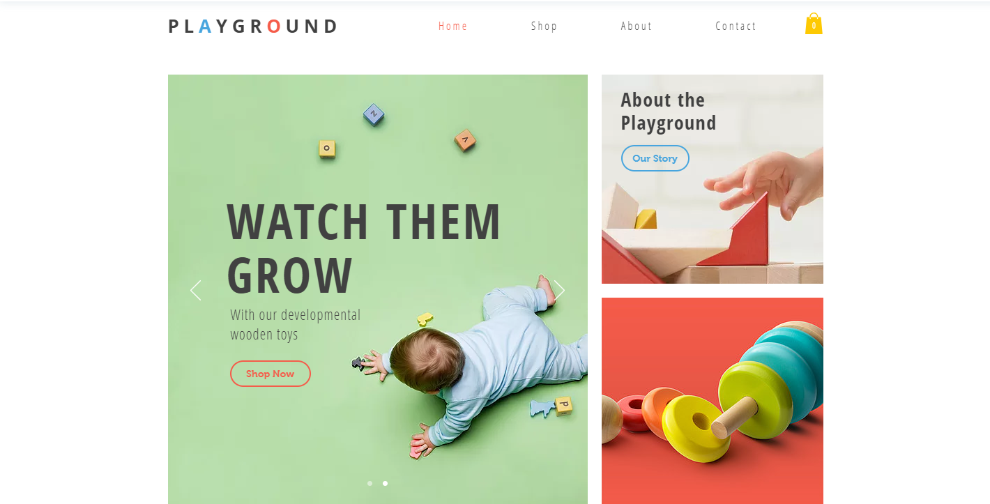 Toy Store Free Responsive Ecommerce Website Template