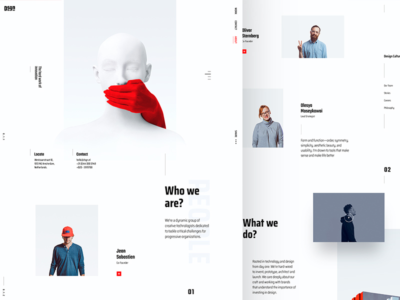Digital Agency About Page