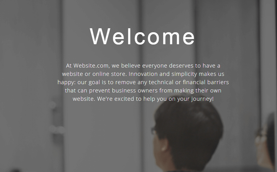 Website about us