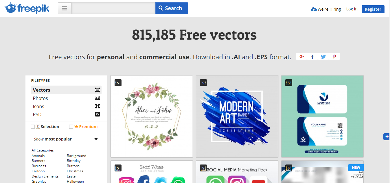 11 Best Free Vector Icon Resources for App Design & Web Design in 2018