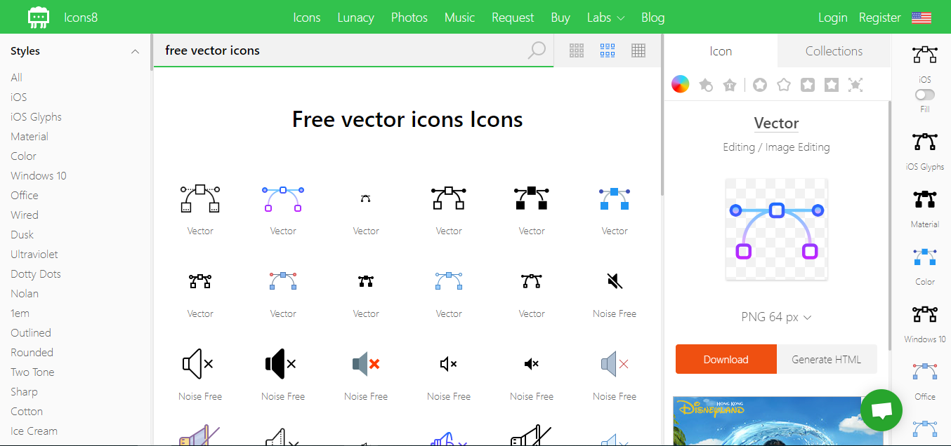 11 Best Free Vector Icon Resources for App Design & Web