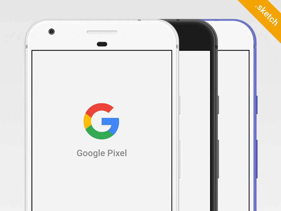 Free-google-pixel-sketch-mockup