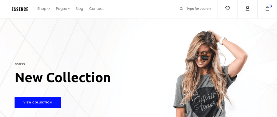 Essence-Free-eCommerce-website-template