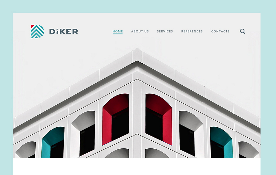 Diker-bau-website