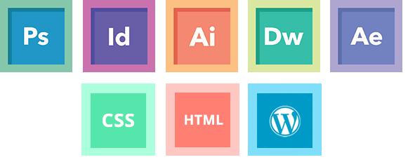 Web designer's design tool skill in 2018