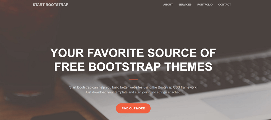 Creative-Responsive-bootstrap-templates-for-small-business-website-design