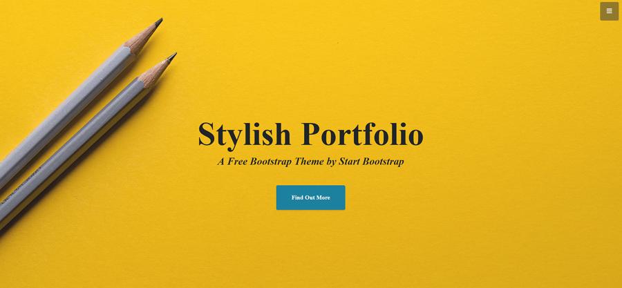 Stylish-Portfoli-Bootstrap-portfolio-theme