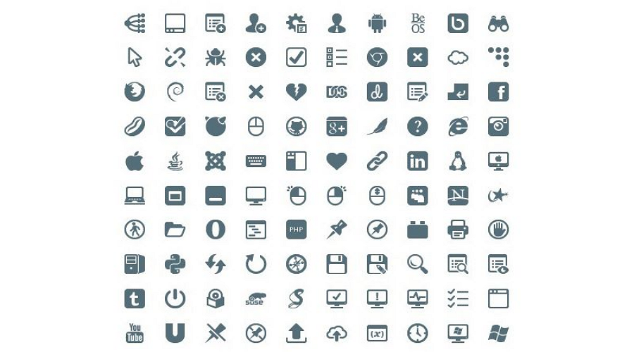Web icon resource