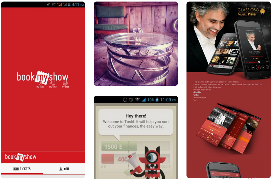 Android UI Patterns on Pinterest