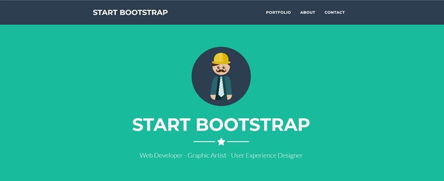 Freelancer is a one page Bootstrap portfolio landing page theme for freelancers