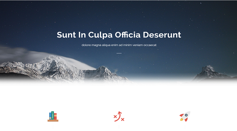 Free CSS Website Template - Sublime