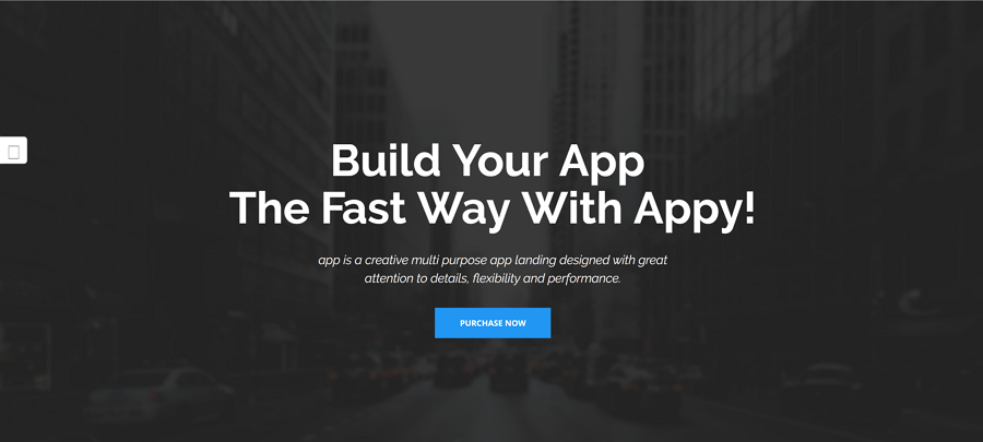 Appy - App Landing Page HTML Template Based on Bootstrap 1170px