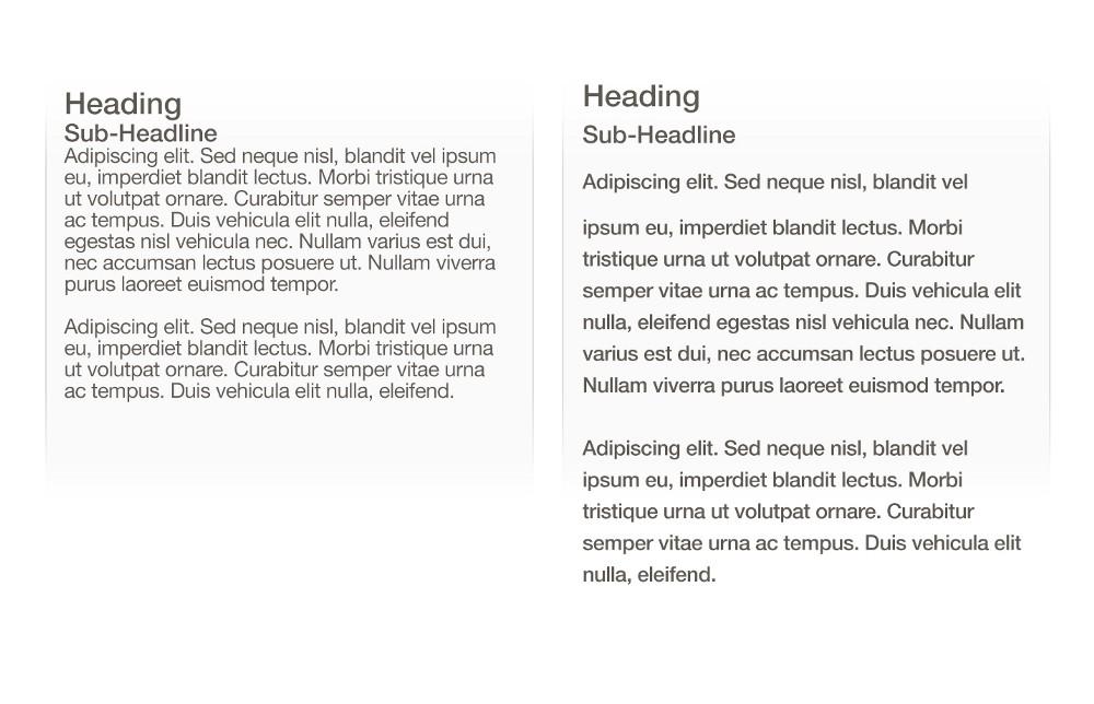 Improve readability