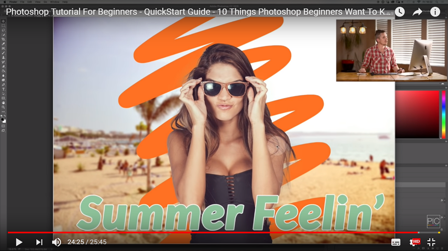 Photoshop Tutorial For Beginners Quick Start Guide