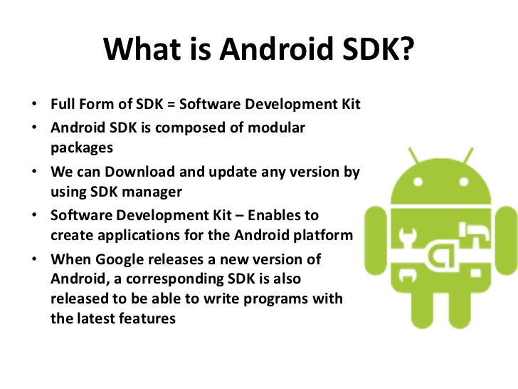 What is Android SDK