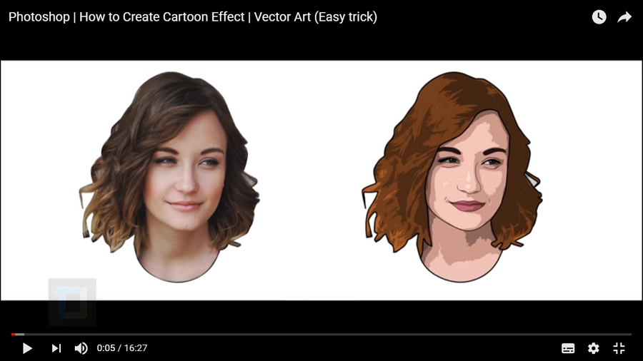 How to Create Cartoon Effect in Photoshop
