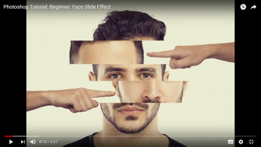 Face Slide Effect