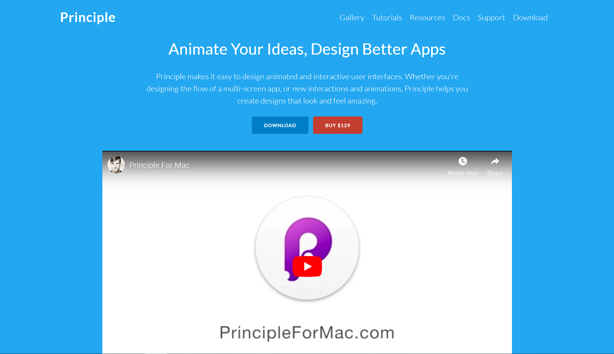 Sketch prototyping Principle