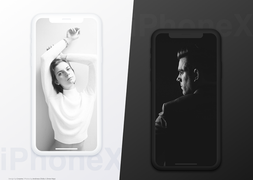 14. iPhone X Mockup Freebie