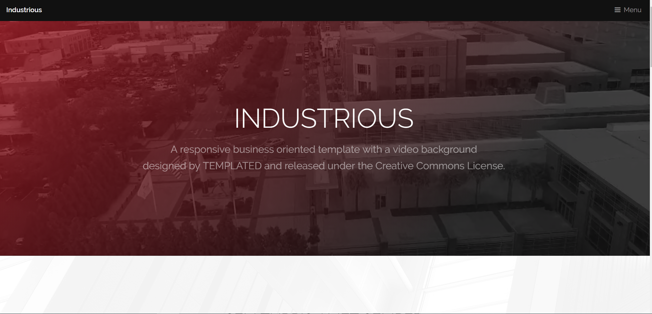 Industrious - A Modern Business-OrientedResponsive HTML5 Template