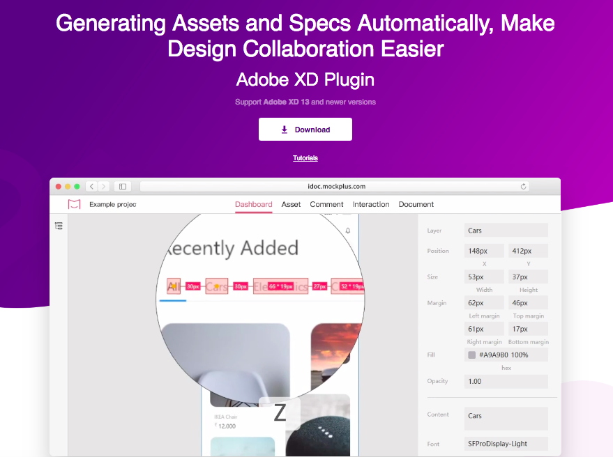 iDoc Adobe XD Plugin