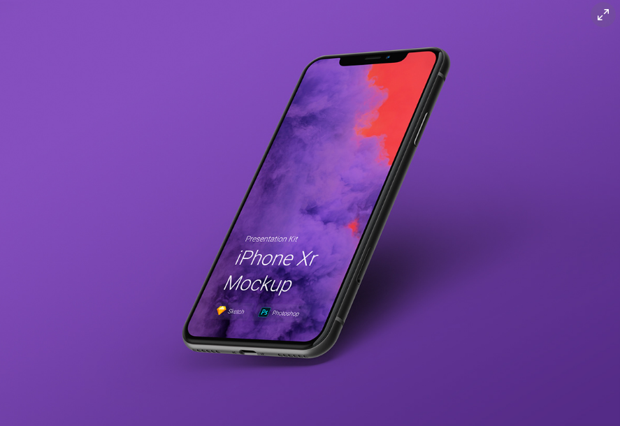Free and Best iPhone Mockups iPhone X, XR, XS and XS Max [PSD, Sketch]
