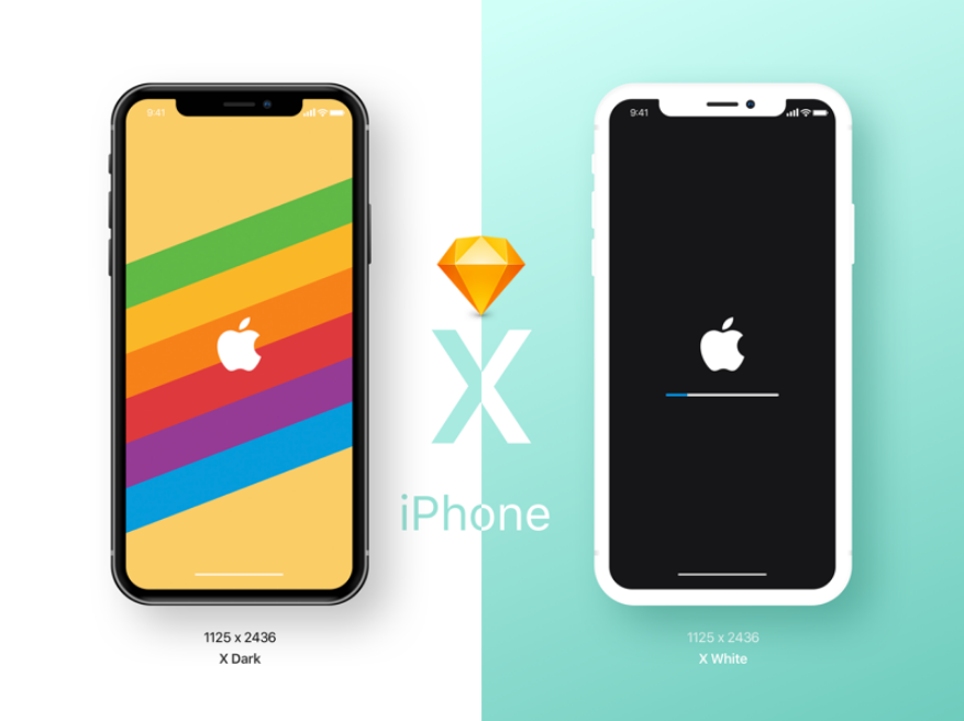 10. iPhone X Mockup Freebie!