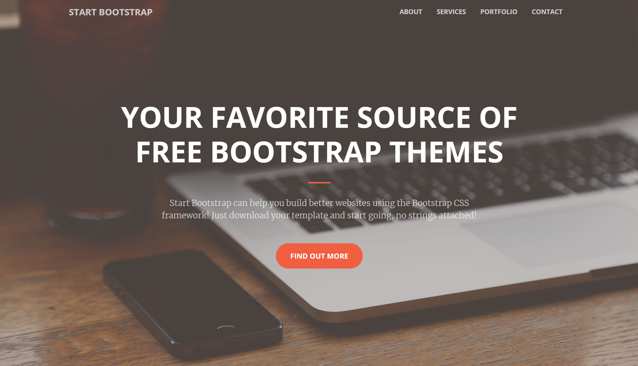 Creative–A Creative Bootstrap Portfolios and Businesses Website Template