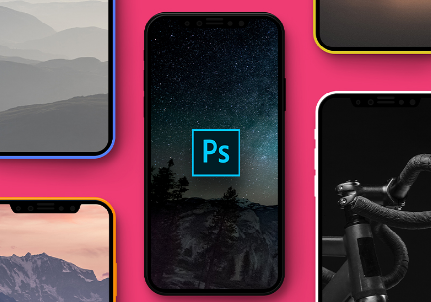 18. Day #91 - iPhone X Mockup PSD Freebie