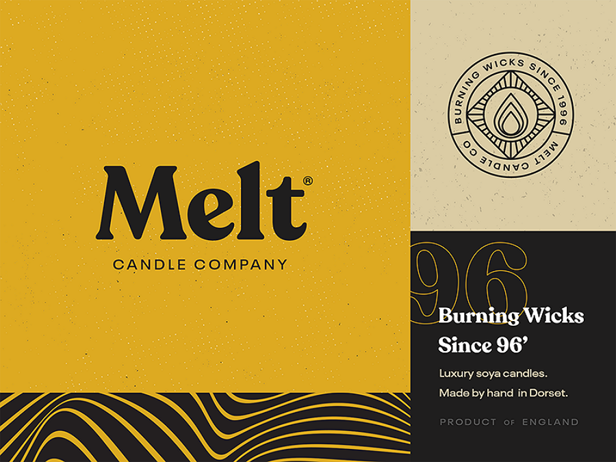 Web design trends 2019 - 9 typography melt