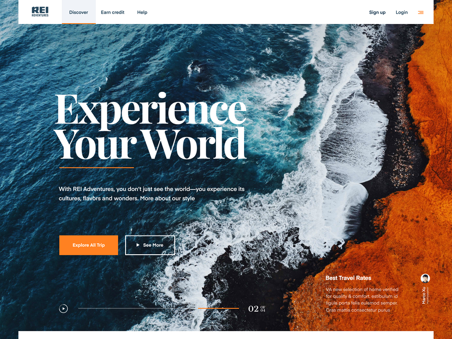 Web design trends 2019 - 9 typography