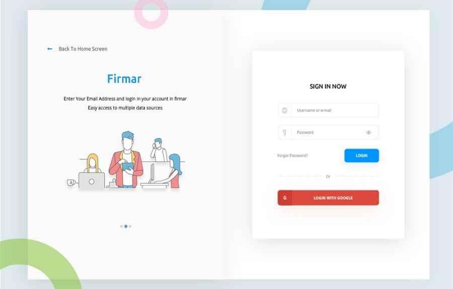 Free Sign Up Form Template (PSD)