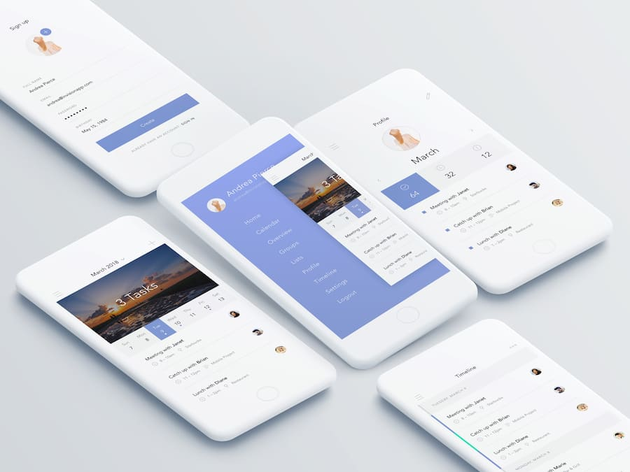 A selection of the best product design and UX/UI design