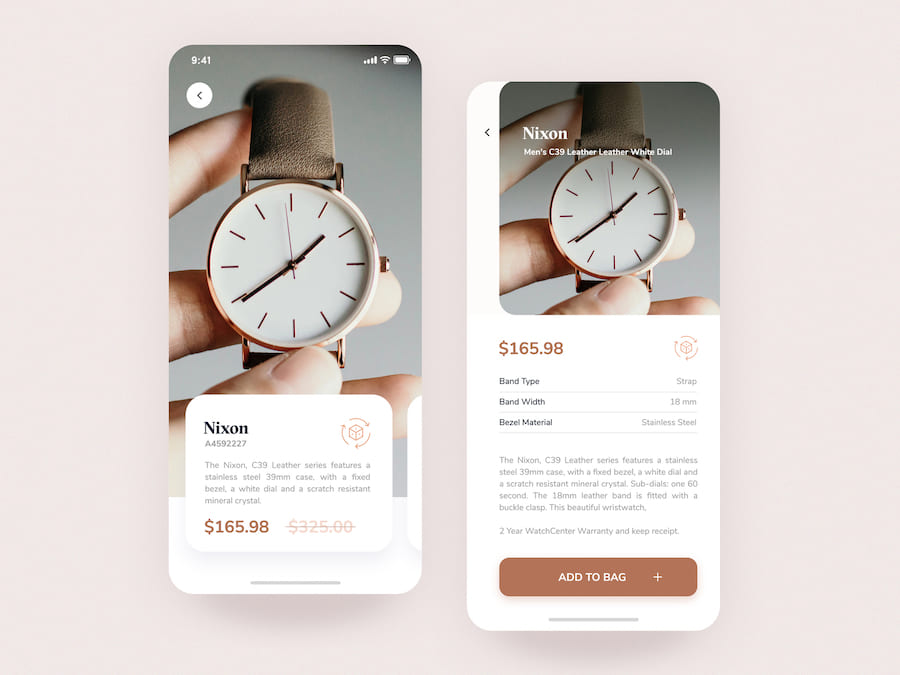 Luxury AR Watch App Concept